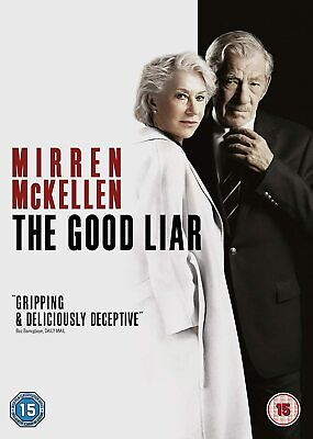 The Good Liar [2019] (DVD) Helen Mirren, Ian McKellen, Russell Tovey, Jim Carter • 4.99£