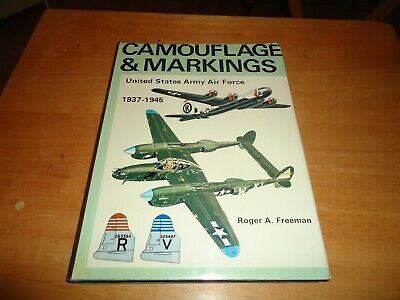 £17.99 • Buy @@@ Camouflage & Markings United States Army Air Force 1937-1945 Vgc @@@