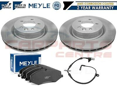 For Land Rover Discovery 4 Sdv6 Xs Front Meyle Pd Brake Discs Pads Sensor • 174.95£