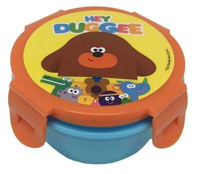 £9.99 • Buy Hey Duggee The Squirrel Club Characters School Lunch Box Snack Pot