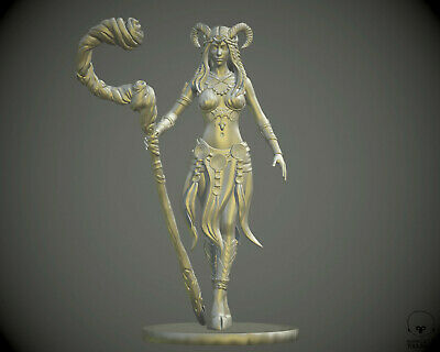 $ CDN39.70 • Buy 75 Mm Faun Tiefling Druid Miniature
