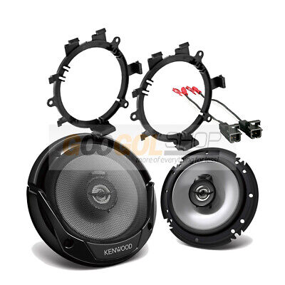 $65.99 • Buy Kenwood 300 Watts Truck Front Door Car Speakers With Install Kit For 1995-up GM