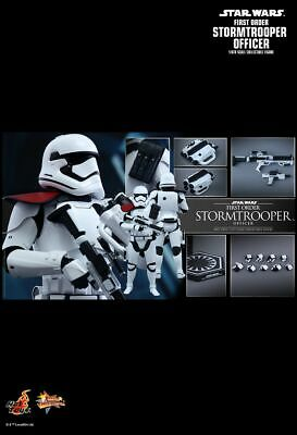 $103.50 • Buy 1/6 Hot Toys Star Wars The Force Awakens First Order Stormtrooper Officer Mms334