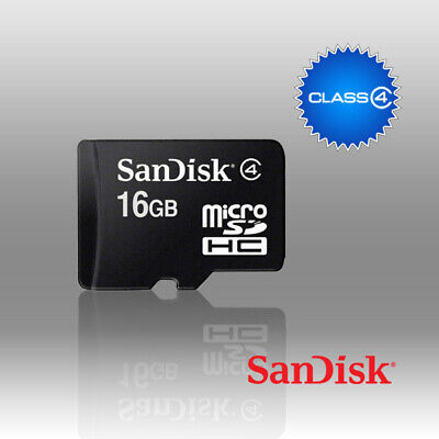 AU24.96 • Buy 16GB Micro SD SDHC SDQ Class 4 Memory Card PC Mobile Phone Waterproof Shockproof