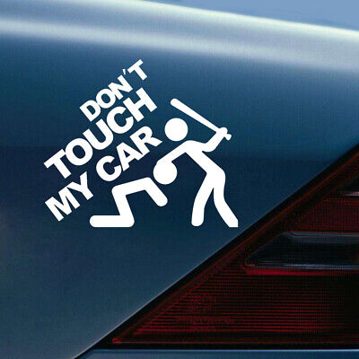 $ CDN1.37 • Buy 1x Don't Touch My Car Auto Sticker Window Bumper Decal Removable Car Accessories