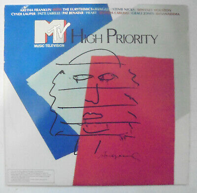 $0.99 • Buy MTV High Priority RCA Victor 6396-1-R 33 1/3 RPM LP Record Andy Warhol Art Cover