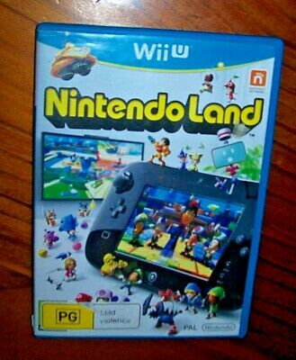 AU10.99 • Buy Nintendo Land Wii U Video Game