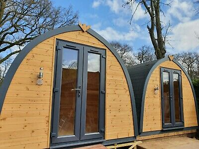 £4995 • Buy Glamping Pod-Garden Office-Work From Home-Log Cabin-Fishing Hut-Commercial