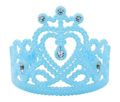 Blue Gem Heart Tiara Christmas Fancy Dress Accessory • 5.95£
