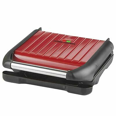 £48 • Buy George Foreman Five Portion Family Non Stick Health Grill Red 25040