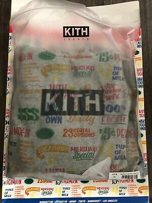 $ CDN300.73 • Buy Kith Treats Circular Hoodie Grey Medium M NEW Supreme
