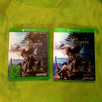AU58.97 • Buy Xbox One - Monster Hunter World (Incl 3D Case) (New)