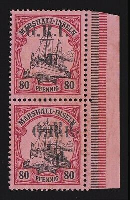 AU9749.99 • Buy NEW GUINEA 1914  G.R.I. 8d   Marshall Yacht 80pf  ERROR DOUBLE CERTIFICATE