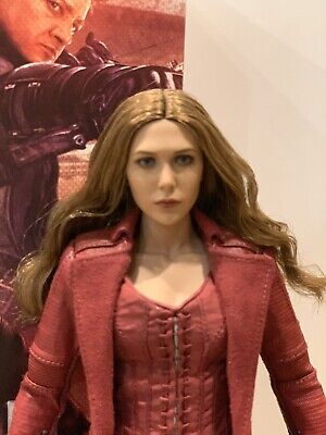 $305 • Buy Hot Toys 1/6th Scarlet Witch Mms370 - Captain America Civil War - Wanda Figure