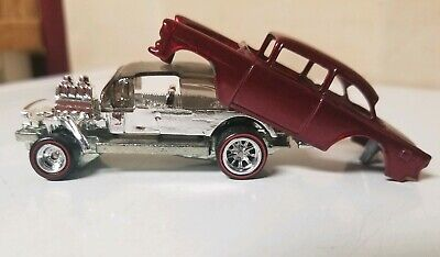 $24.99 • Buy Hot Wheels Mail-in '55 Chevy Bel Air Gasser * Unspun * Loose 1:64 No Tampo's
