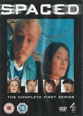Spaced - The Complete First Series (DVD - Simon Pegg) T2TCDVD1187 (vg) E02  • 2.25£