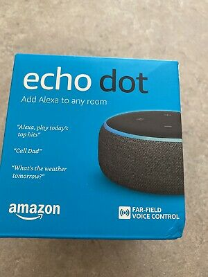 AU50 • Buy Amazon Echo Dot (3rd Generation) Smart Assistant Speaker - Heather Gray