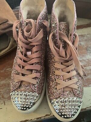 AU78 • Buy Amazing New Ugg Boots Sparkles Laceup Genuine Rare