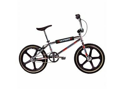 AU1699.99 • Buy Old School Bmx Skyway Ta 20 Pro Replica Bmx Bike Chrome/black Wheel