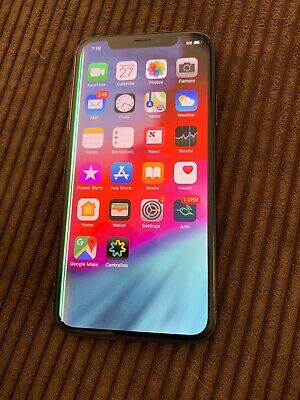 AU197.50 • Buy Apple IPhone X - 64GB - Space Grey (Unlocked) A1865 (CDMA + GSM) (AU Stock)