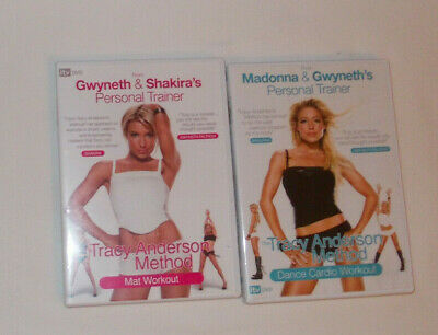 Tracy Anderson Method Dance Cardio & Mat  X 2 Set DVD's • 5.50£