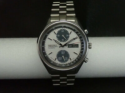 $ CDN592.88 • Buy Vintage Seiko 6138-8020 Automatic Chronograph Mens Watch PANDA