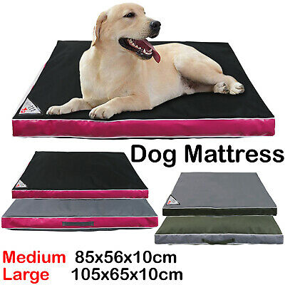 Waterproof Dog Cushion,Mojo Brand Pet Bed, Mattress, Scratch/ Tear Proof Cover. • 19.99£