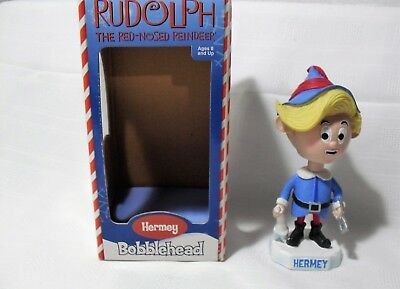 $67.50 • Buy Rankin Bass Toysite Bobblehead Nodder Rudolph Misfit Hermey Elf Rare With Box