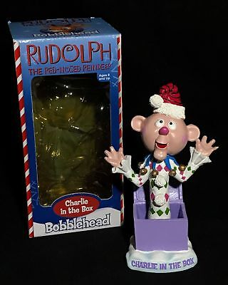 $67.50 • Buy Rankin Bass Toysite Bobblehead Nodder Rudolph Misfit Charlie Rare With Box