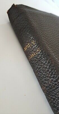 £108.38 • Buy Holy Bible Eyre & Spottiswoode Antique C1900s Old & New Testaments Indexed Atlas