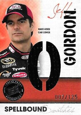 $7.95 • Buy 2010 ECLIPSE JEFF GORDON ~SPELLBOUND SWATCHES~ CAR COVER #SS-JG/2 *s/n 7/125*