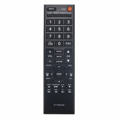 $17.99 • Buy Replacement TV Remote Control For Toshiba 32C120U Television