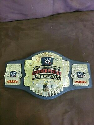 $15 • Buy 2002 WWE Wrestling Cruiserweight Champion Championship Kids Replica Belt Jakks