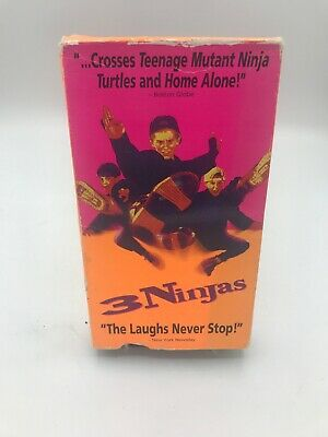 "$ CDN9.30 • Buy 3 Ninjas ""The Laughs Never Stop!"" (VHS)"