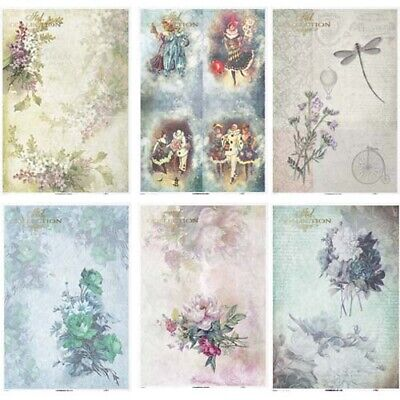 £2.99 • Buy ITD Collection B - Decoupage Rice Paper A4 Sheet - VARIOUS DESIGNS