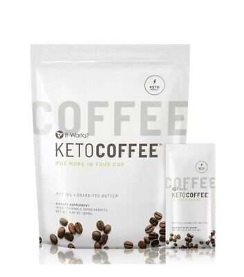 $37.99 • Buy It Works! Keto Coffee BRAND NEW & Sealed Bag 15x Packets Carb Management