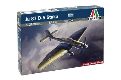 $51.95 • Buy Italeri 2709 Junkers Ju87D-5 Stuka 1/48 Scale Plastic Model Kit