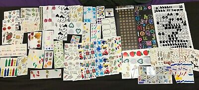 $25 • Buy Huge Scrapbook Lot Of Stickers, Die Cuts, Punch Outs, Tape & Many Packages NEW2