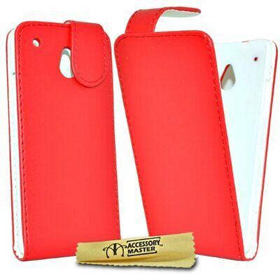 AU34.28 • Buy Accessory Master Case Leather For HTC One Mini Red