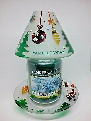 Yankee Candle Christmas Accessories: Shade & Tray • 19.99£