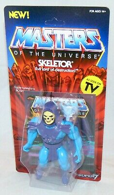 $34.97 • Buy New Super 7 Masters Of The Universe Skeletor Action Figure Sealed Classic Style