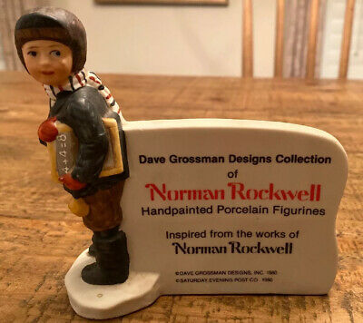 $ CDN16.56 • Buy 1980 Norman Rockwell/Dave Grossman Design Dealer Display Porcelain Sign