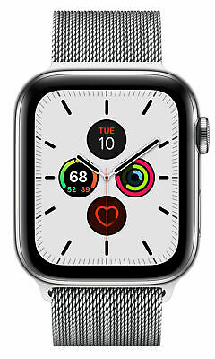 $ CDN67.04 • Buy Apple Watch Series 5 44mm Stainless Steel Case Milanese Loop GPS + CELL