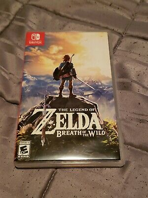 $43 • Buy The Legend Of Zelda Breath Of The Wild (Nintendo Switch) Tested, Complete
