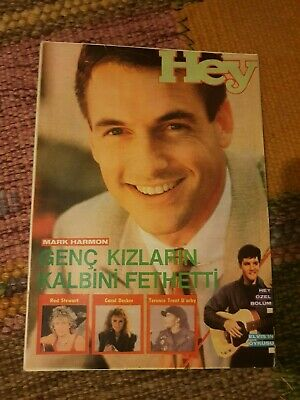 $ CDN39.77 • Buy Mark Harmon 1988 Turkish Magazine A-ha Tiffany Darwish Rod Stewart Deep Purple