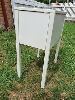 AU15.50 • Buy IKEA Nordli Bedside Table - White - Good Condition