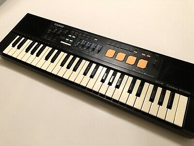 $49 • Buy CASIO CASIOTONE MT-220 Electric Piano Keyboard Drums Synth Pulse Code Modulation