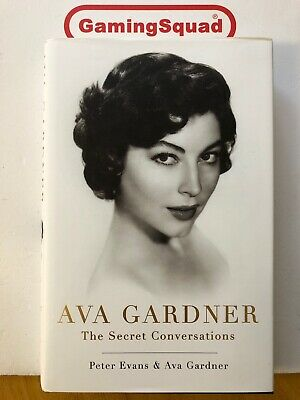 Ava Gardner The Secret Conversations, Peter Evans Book, Supplied By Gaming Squad • 5.20£