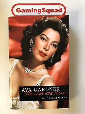 Ava Gardner Her Life And Loves, Jayne E Wayne PB Book, Supplied By Gaming Squad • 3.80£