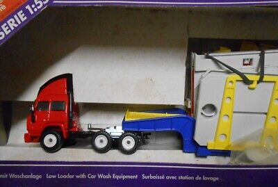 £42.46 • Buy VERY RARE SIKU 4019 IVECO LOW LOADER And CAR WASH EQUIPMENT Truck